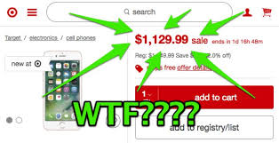 target sales on black friday warning target u0027s black friday u0027sale u0027 on the iphone is a massive