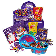 Christmas Basket Cadbury Christmas Hamper Christmas Hampers Cadbury Gifts Direct
