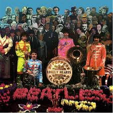 sargeant peppers album cover photo shoot for sgt pepper album cover vintage everyday