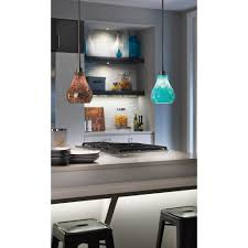 Kichler Lighting Kitchen Lighting by Kichler Lighting Crystal Ball Brushed Nickel Mini Pendant Light