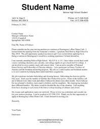 sample cover letters for college students letters font