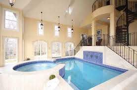 Indoor Pools Home Design Indoor Swimming Pools And On Pinterest With House