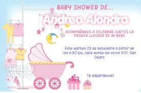 Tarjetas De Invitacion Baby Shower Para Editar Gratis