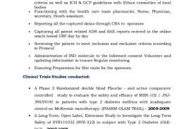 Project Coordinator Resume Sample Clinical Research Coordinator Resume Training Coordinator Resume