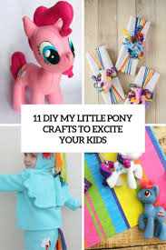 11 diy my little pony crafts to excite your kids shelterness