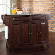 mahogany kitchen island buy pottstown kitchen island with granite top base finish vintage