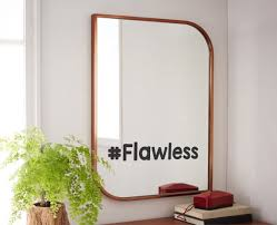 Mirror Stickers Bathroom Flawless Mirror Decal Flawless Bathroom Mirror Decal Custom