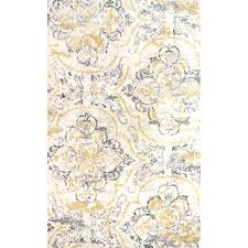 yellow and gray area rug 5 7 u2013 fitnesscenters club