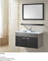 Discount Bathroom Mirrors by Stainless Steel Bathroom Vanity And Sink Combo 30 Inch Modern