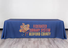 trade show table covers cheap table covers order your custom tablecloth totallypromotional com