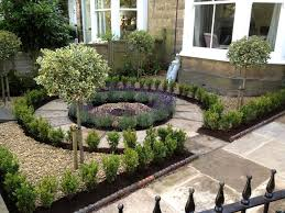 House Gardens Ideas Beautiful No Grass Formal Front Yard Garden Design With Lavender