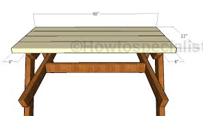 sandbox kids picnic table plans howtospecialist how to build