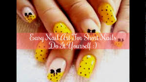 7 easy nail art design for short nails u2013 step by step nail art