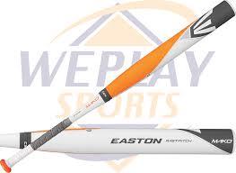 composite softball bat easton mako fp14mk 10 fastpitch softball bat weplay sports