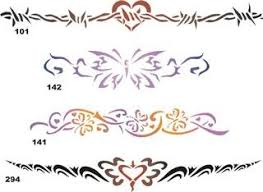 amazon com airbrush temporary stencil set 40 101