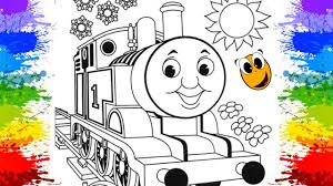 coloring thomas fiends color games thomas