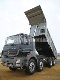volvo truck price in india bharatbenz 3143 heavy duty tipper