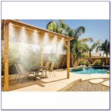 Homemade Outdoor Misting System by Patio Misting Systems System Diy Glf Home Pros Awesome Images