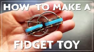 How To Make A Easy Toy Box by How To Make A Fidget Toy Youtube