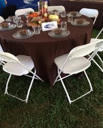5 foot round table tents tables chairs cousins tents and more llc