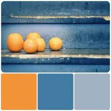 Blue Orange Color Scheme Burnt Orange Gray And Blue Palette Casamidy Palette