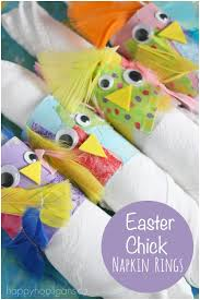 easter napkin rings adorable easter napkin ring craft happy hooligans