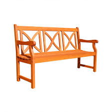 vifah v outdoor wood garden bench feet patio pictures on