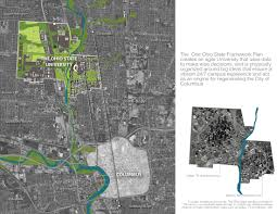 Ohio State Campus Map Asla 2012 Professional Awards The One Ohio State Framework Plan