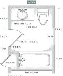 Small Bathroom Floor Plans With Both Tub And Shower Blueprint - Bathroom designs floor plans