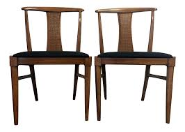 vintage thomasville mid century dining chairs chairish