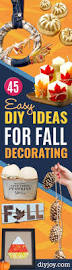 45 easy diy ideas for fall decorating diy joy