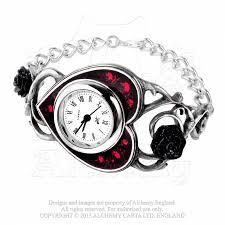blood bracelet images Bed of blood roses bracelet watch necromancynecromancy jpg