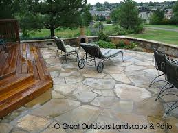 Backyard Stone Ideas by 20 Best Stone Patio Ideas For Your Backyard Stone Patios