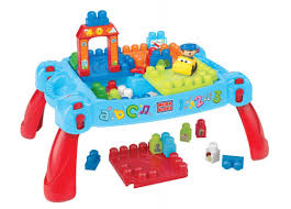 my first mega bloks table mega bloks first builders 3 in 1 build n learn table