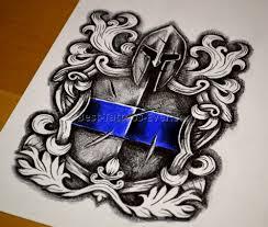 law enforcement tattoos designs best tattoos ever