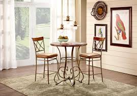 dining room set metal casual dining room