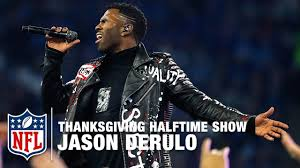 jason derulo performs the thanksgiving halftime show vikings vs