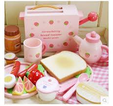 toaster kinderk che shop neue ankunft erdbeere toaster säuglinge kinder holz