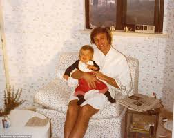 Whos That Lounging In My Chair The Extraordinary Intimate Donald Trump Family Photos Found In A