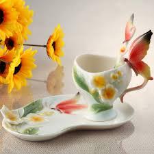 Cute Coffee Cups Aliexpress Com Buy Bone China Ceramic Enamel Coffee Cup European