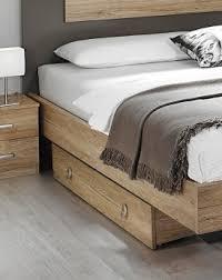 lit chambre adulte tiroir lit contemporain chêne clair aureal tiroir lit chambre