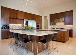 granite kitchen island with seating barton creek residence contemporary kitchen by