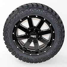 Truck Wheel And Tire Packages Amazon Com Wheel U0026 Tire Package 18x9 Moto Metal 962 Black Milled