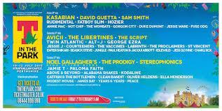 el festival escocés t in the park 2015 desvela su cartel dod