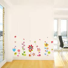 wallpaper art decor mural kids living room beautiful flowers floral butterfly diy wall stickers wallpaper art decor mural kids living room bedroom decal