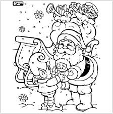 58 christmas coloring pages images drawings