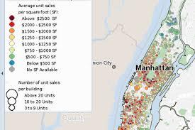 Williamsburg Brooklyn Map Mapping Manhattan U0027s And Brooklyn U0027s Newest Priciest Sales Curbed Ny