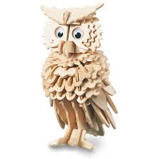 wood craft woodcraft construction kit owl charlies direct