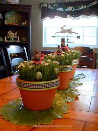 versatile table centerpieces for spring and easter the seasonal home