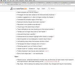 Noredirect by Top Navigation Update Meta Stack Overflow